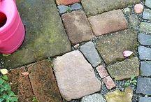 Drive way, paths or patio floor