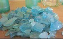 vidrio de mar