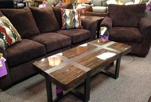 Showroom Product / Pieces that are on the Woods Furniture showroom floor.