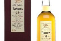 Brora single malt scotch whisky / Brora single malt scotch whisky