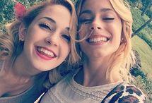 Martina y Mercedes / Je to o Violette ale herečka v skutočnosti a Ludmila, ale tiež skutočnosť . :-) <3