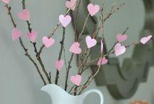 valentin dekoráció