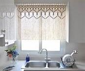 window treatments, kitchen