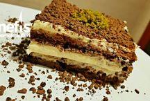 Çikolatalı kremalı pasta