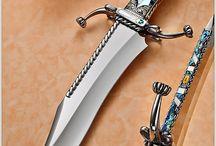 Axes, Daggers, Knives & Swords..