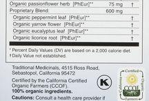 Health & Medicine : Tea Blends