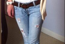 Boyfriend jeans outfits