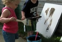 Ideer til vuggestue aktiviteter på legepladsen