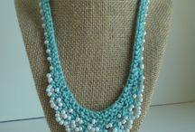 Akita Mom Studios / knit & crochet beaded jewelry