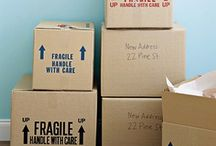 Moving Tips / Checklists and tips for moving from one abode to another!