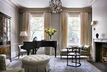 Hillsborough dining & living room