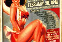 Burlesque Posters and Magazines