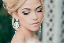 Bridal makeup and style