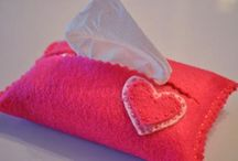 DIY  Tissue Holder / by Janet Coumo