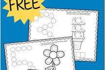 do a dot worksheets