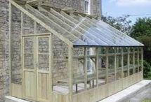 skleník, letná záhrada