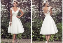 Brighton Belle by True Bride / A dedicated collection of sassy tea length dresses with a retro feel