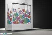 Bath screens / Made to measure and customized bath screens.
