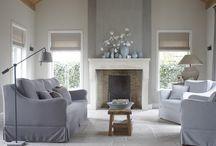 Interieur grijstinten plus een kleurtje