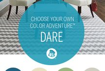 Color Adventure / We're all on a journey. Make your space reflect yours.
