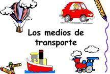 MEDIOS DE TRANSPORTE/LA CIUDAD