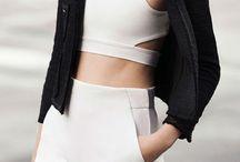 Minimal chic fashion style