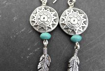 Tribal Jewelry / Antique silver jewelry, Antique silver earrings, Antique silver necklaces, Antique silver bracelets, tribal jewelry, boho jewelry