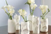 Glaasjes en vaasjes / Deco ideetjes met flesjes, glazen potjes, blikjes