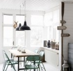 All White Interiors / What better than a white canvas to show off all your worldly wares...