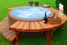 HOME - outdoor hot tub