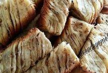 cevizli Burma çörek