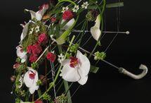 Kreative blomsterarrangementer