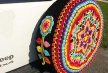 Crochet Car Accessories