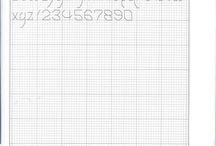alfabeto punto scritto