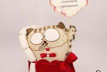Суженный, ряженный Котец / Имя: Суженный, ряженный Котец Цена : 600 руб Дата рождения : 18.02.14 Место рождения : г.Саратов Материал : Лен Наполнитель : Холлофайбер Размер : 23 см  Срок изготовления : 3 дня http://www.livemaster.ru/carnage
