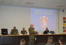 """Convegno """"Logistica Militare"""" / Il nostro istituto incontra il Comando delle Forze Operative Terrestri"""