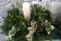 Holiday wreaths / holiday wreaths from Lilies and lavender / by Laughing Lady Flower Farm