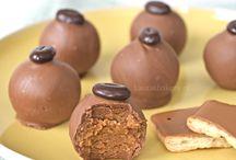 Café noir truffels
