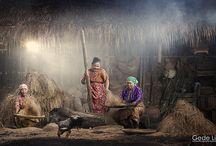 Foto Kehidupan desa