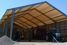 Equipment Storage / Accu-Steel equipment storage buildings are a fast, cost-effective solution for all your storage needs. Invest in one of our equipment storage buildings so you can take advantage of it's spacious interior.