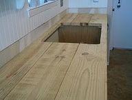 Indoor Kitchen benches