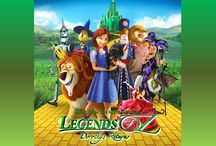 "Music / Music from ""Legends of Oz: Dorothy's Return"" / by Legends of Oz"