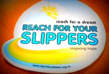 Reach for a Dream / 1st Aiim Recruiting supports the Reach for a Dream foundation with Slipper day. Wearing Slippers to work