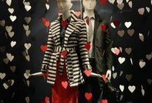 Escaparate San Valentin / Valentine´s Day window display / Decoraciones en tienda para San Valentín / Valentine´s Day window display