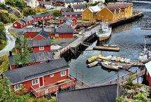Autolla Norjaan / Road trip Lofooteille