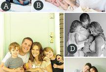 family baby potrait