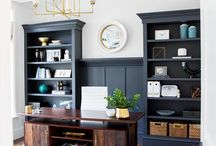office spaces / interiors: modern home office spaces