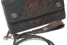 The Finer Things: Sterling Silver, etc. / Beautifully handcrafted western fashion pieces in hand tooled leather and hand engraved sterling silver.
