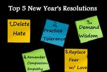 Top New Year's Resolutions / How are you going to remake yourself for the better this 2016? Here are Top 5 #NewYear's #Resolutions To Wake Up #America http://bit.ly/1R6o1Sg