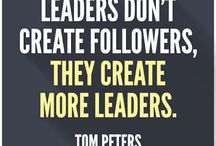 Leadership quotes / Leadership quotes